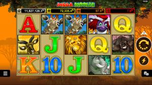 Progresyvus lošimo automatas - Mega Moolah