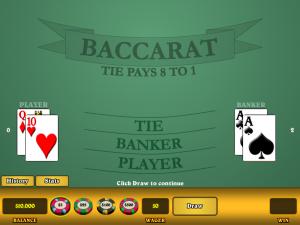 Bakara - vienas iš populiariausių kazino žaidimų